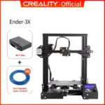Ender 3, tempered glass, nozzles x5, Wifi box