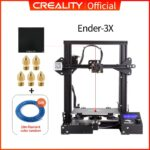 Ender 3, tempered glass, nozzles x5